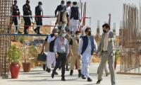 PM visits SKMT site in Karachi