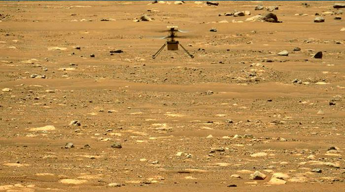 NASA's Mars helicopter made the second flight