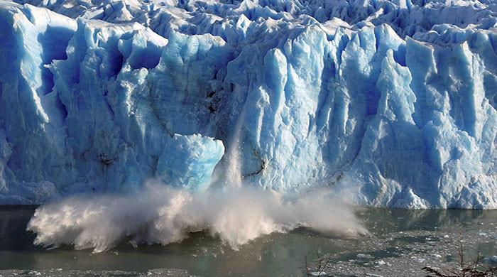 Glaciers are melting faster