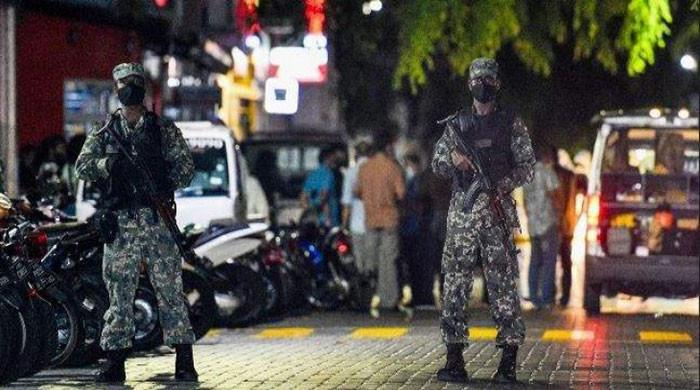 Maldives arrests two for attacking former president
