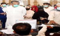 Ali Zaidi praises Sindh govt for vaccination arrangements