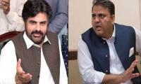 Fawad, Nasir Shah trade barbs