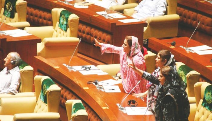 PTI walks out of PA after lawmaker's microphone switched off