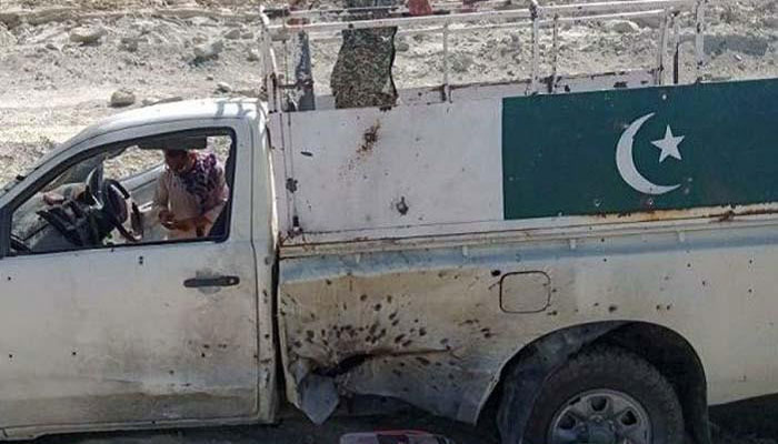 Five FC personnel martyred in Sibi attack