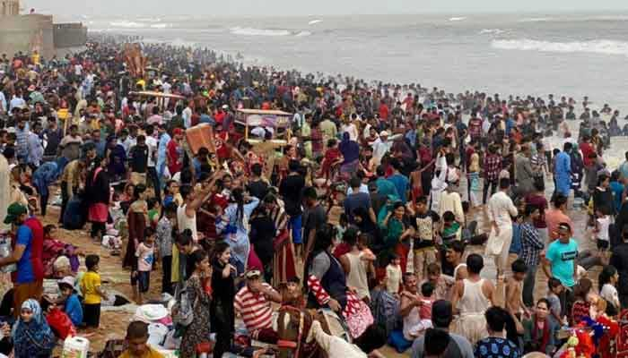 File photo of Karachi beach.