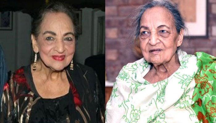 Veteran actress Khursheed Shahid passes away