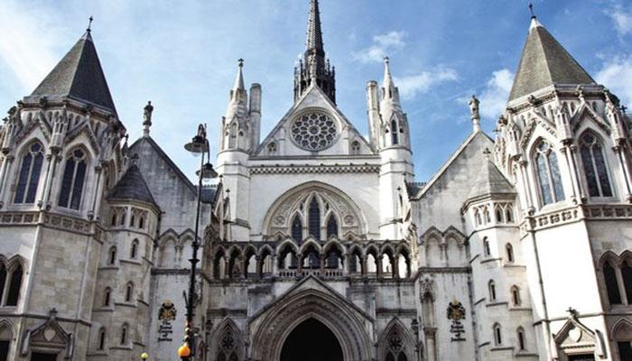 London High Court. File photo