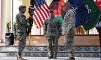 Gen Miller hands over command to Afghan govt