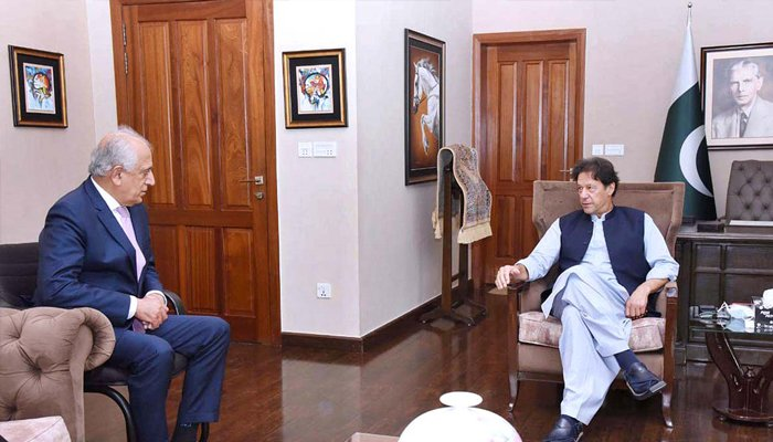 US envoy on Afghanistan meets PM, COAS