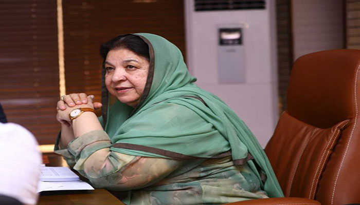 Dr Yasmin Rashid announces reforms in blood transfusion services