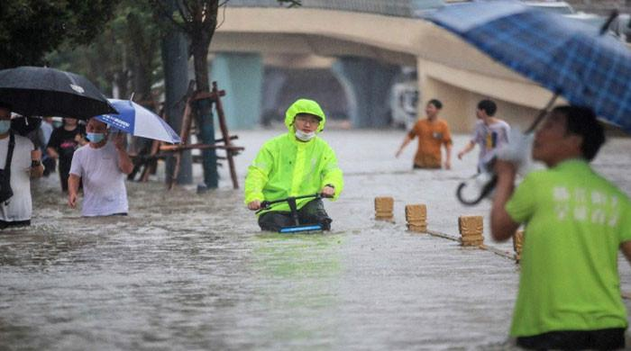 China braces for In-Fa as it cleans up flood damage