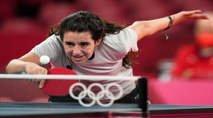 12-year-old Syrian athlete exits in first round of Olympics