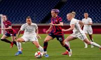 US bounce back on goal-laden day in Olympic women's football