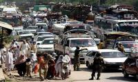 Worst traffic jams make tourists suffer in Swat