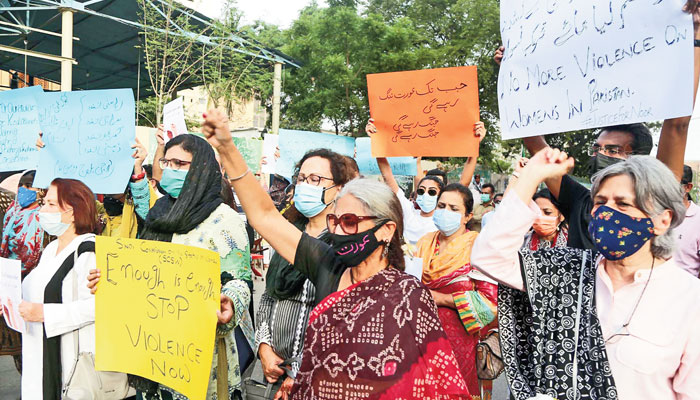 Protest against killing of women: Feminists reject norms, structural asymmetries exacerbating patriarchal violence