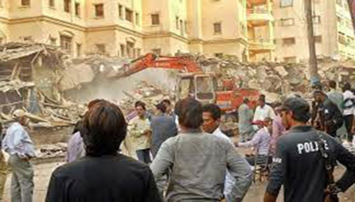 50 Jubilee Market shops razed amid protest against anti-encroachment drive
