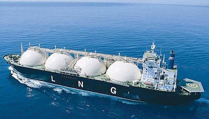 LNG ship. File photo
