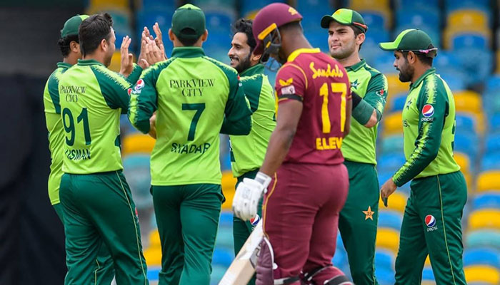 Pakistan defeat West Indies by seven runs in second T20