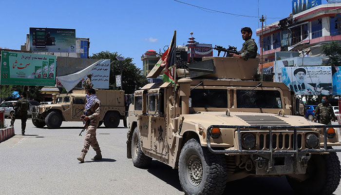 Taliban and Afghan forces clash again outside Herat city
