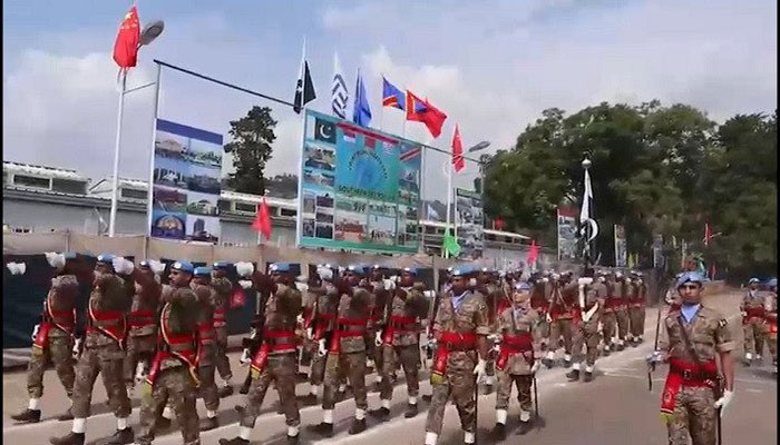 Pak Army organises UN military parade in DR Congo