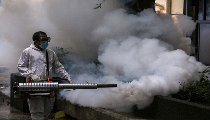 KMC, Al-Khidmat launch spray campaign to eradicate flies, mosquitoes