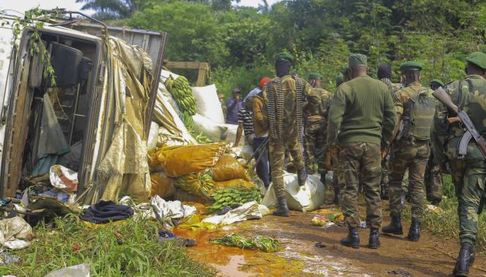 16 killed in DR Congo