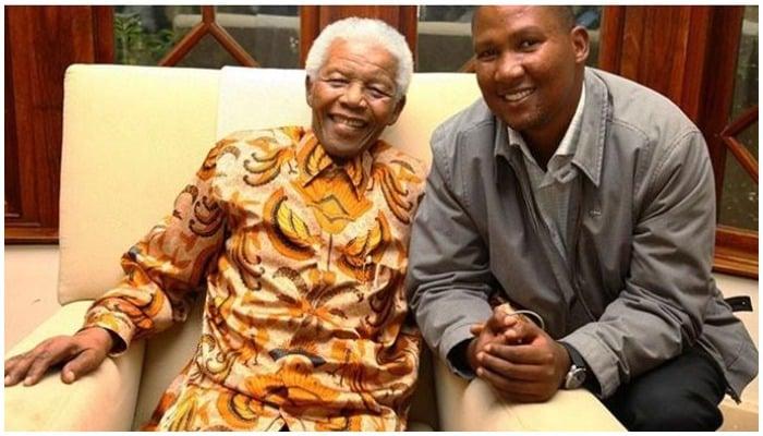 Mandla Mandela with Late Nelson Mandela. Photo: File