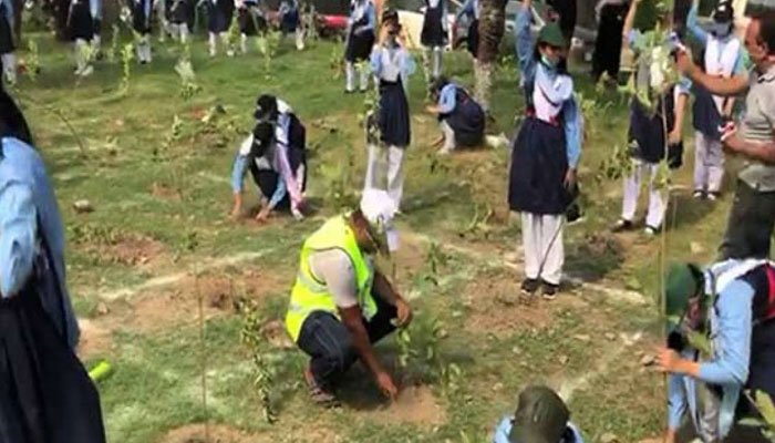 Pakistan makes world record by planting over: 50,000 saplings in less than one minute
