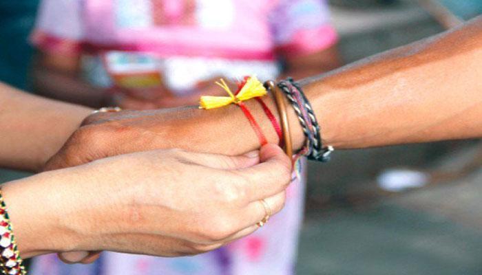 Hindu community celebrates Raksha Bandhan