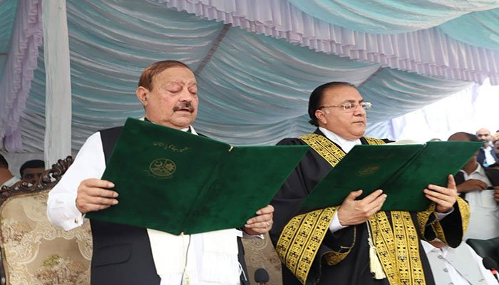 Barrister Sultan sworn in as AJK president