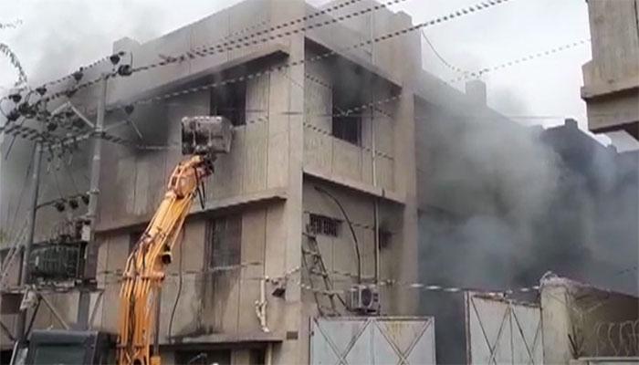 Korangi factory fire suspects go into hiding as police book them