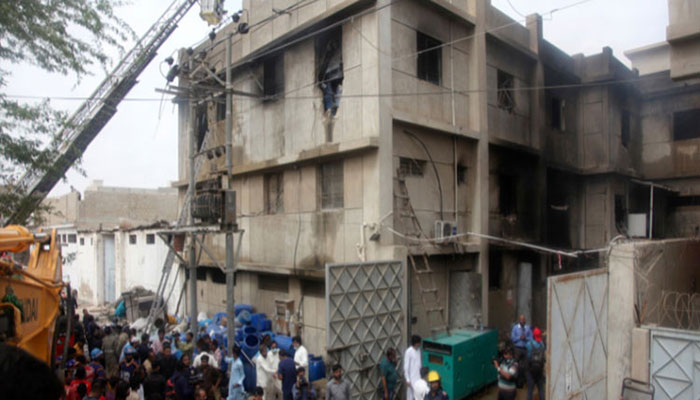 Four days on, SBCA yet to issue report on Korangi factory fire