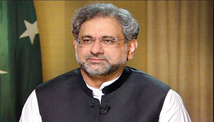 No option for 'national govt' in Constitution, says Khaqan Abbasi