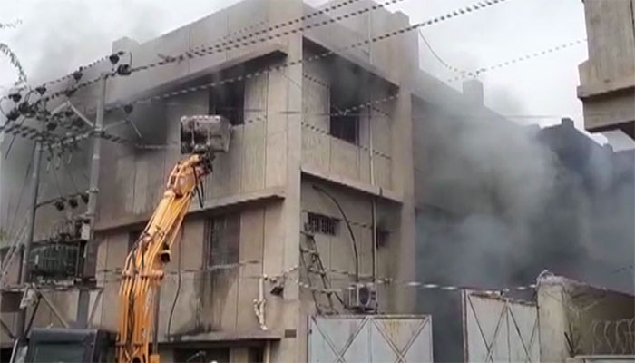 Korangi factory owner, manager arrested