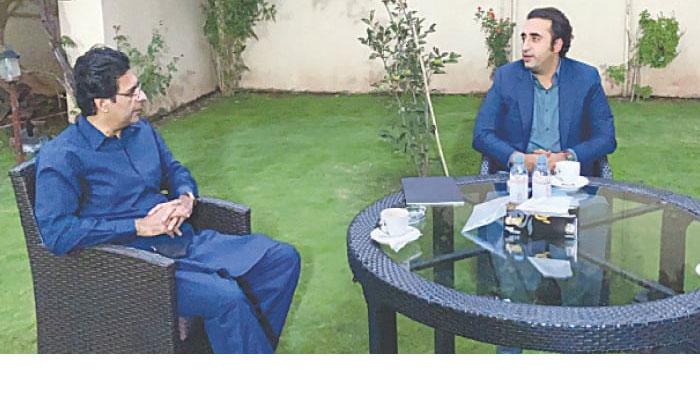 Bilawal, Moonis Elahi discuss political situation