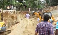 Wall collapse injures four children
