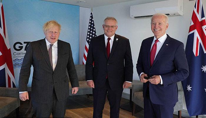 UK, US, Australia launch security pact to counter Beijing