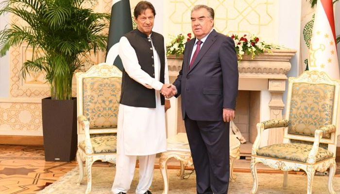 'PM wants Pakistan, Tajikistan to play role for unity in Afghanistan'