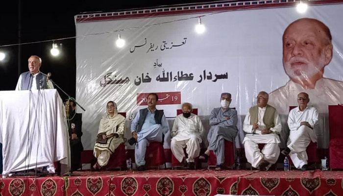 Moot hails Sardar Mengal for principled politics, struggle for Balochistan's rights