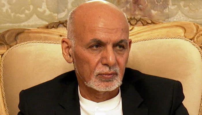 Former Afghan president Ashraf Ghani