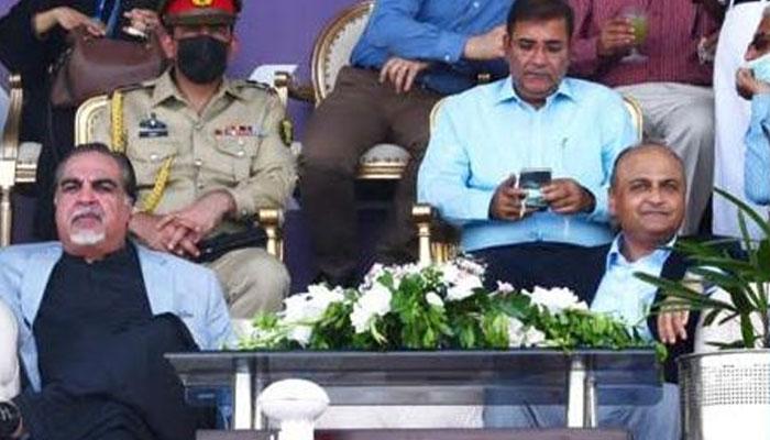 Governor Sindh inaugurates CNS hockey championship