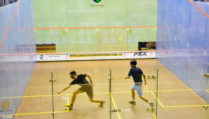 Sindh's Zaman moves into All Pakistan U17 National Squash second round