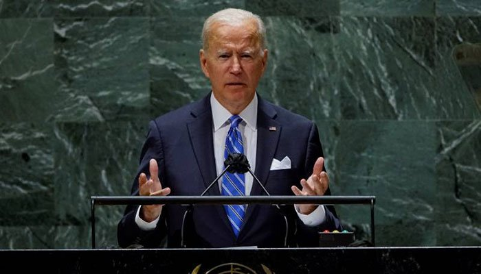 US not seeking Cold War, says Biden