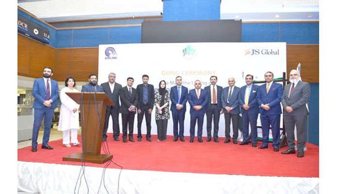 PSX marks JS Global lead-managed Air Link listing in gong ceremony