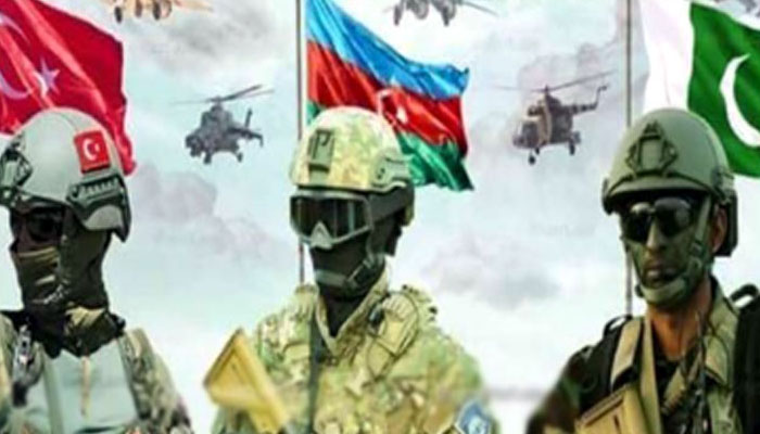 Two-week long 'Three Brothers-2021' military drill ends in Baku