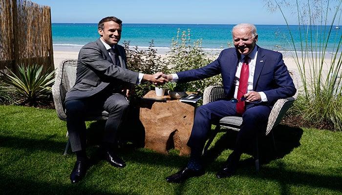 French envoy to return as Macron, Biden try to defuse row