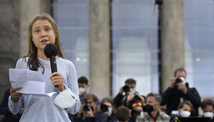 Thunberg tells Germans: 'no party' doing enough on climate