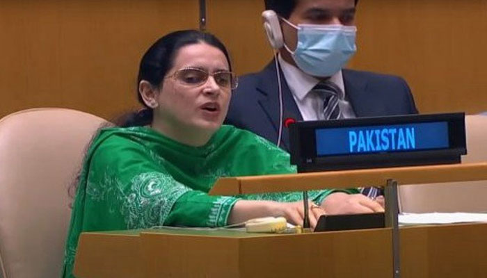 Saima first visually impaired diplomat to speak at UN