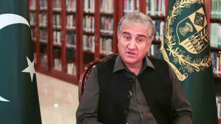 Foreign Minister Shah Mahmood Qureshi. File photo