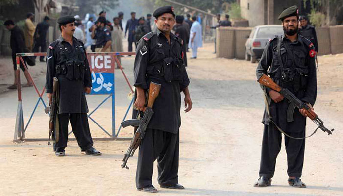 Several injured, eight held after KP police charge candidates